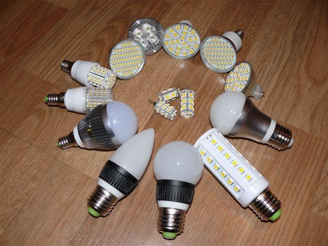 Современные светодиодные лампы
