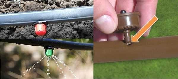 Как сделать капельный полив для огорода своими руками: (фото + видео)