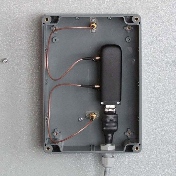 Антенна со встроенным модемом с разобранным корпусом