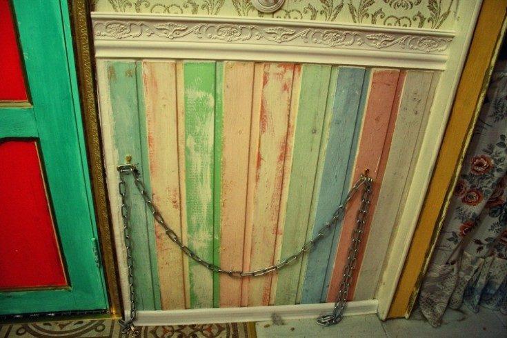 (+66 фото) Покраска вагонки внутри дома в разные цвета фото интерьеров