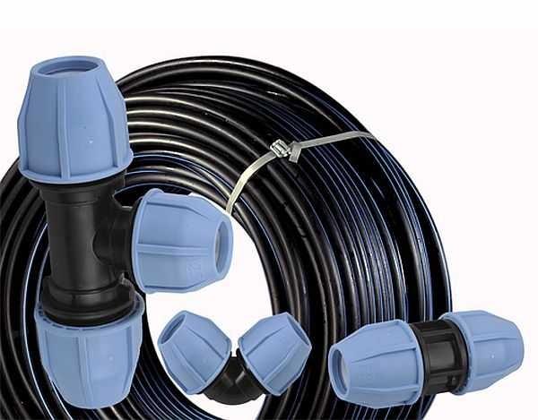 Трубы ПНД для водопроводов выпускаются в бухтах или отрезками (зависит от диаметра)