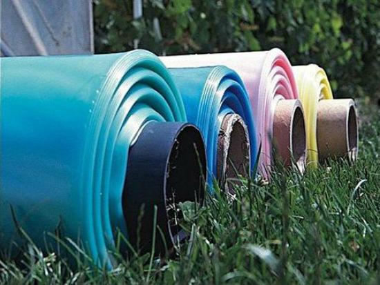 Теплоудерживающая цветная пленка для строительства теплицы
