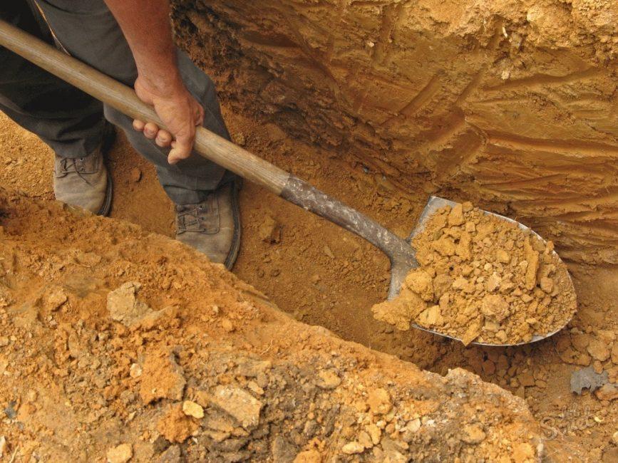 Заготовка глины