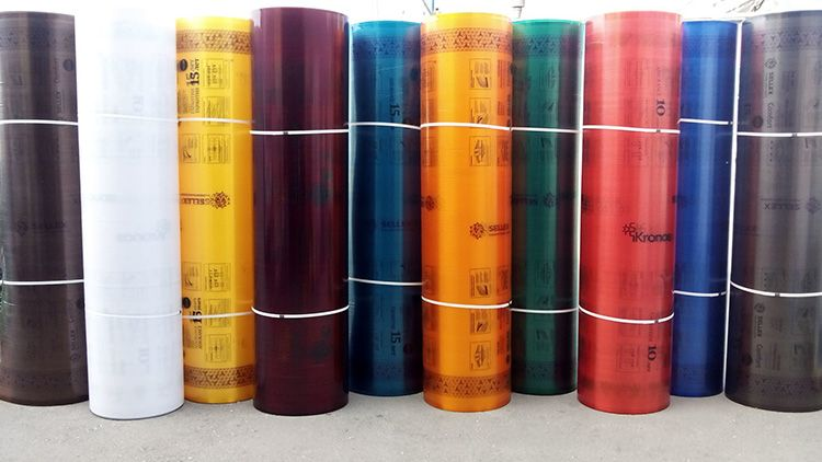 Материал представлен в широкой цветовой гамме