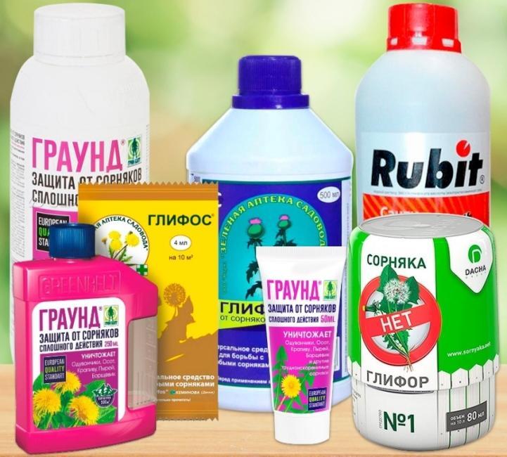 Как выбрать гербициды от сорняков