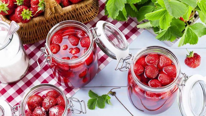 варенье с целыми ягодами без варки