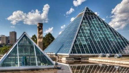 теплица - оранжерея пирамида