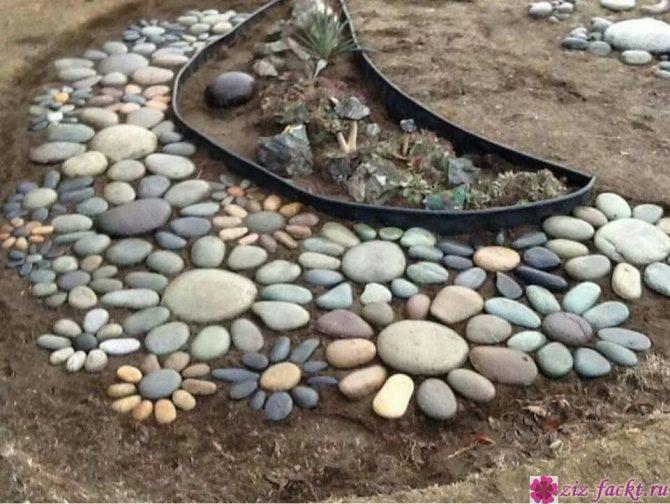 Сухой ручей в ландшафтном дизайне 28