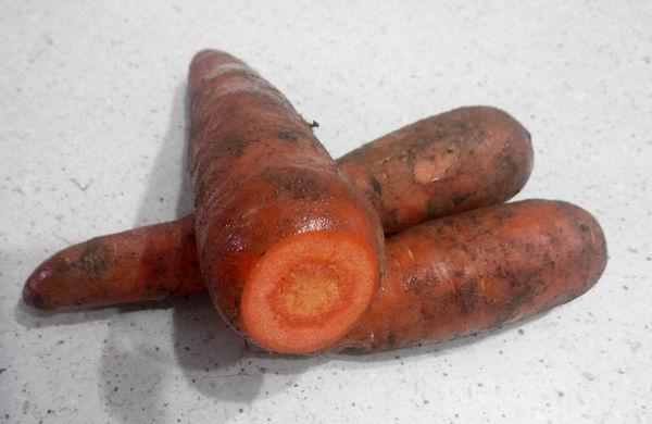 Как обрезать морковь