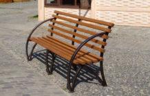 cадовые скамейки из профильной трубы своими руками